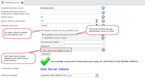 Configure a Data Source for Forms
